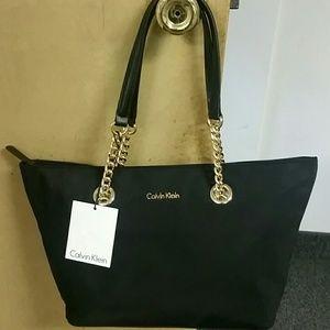 Brand new black Calvin Klein Florence Tote.
